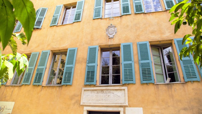 House of Napoleon Bonapart in Ajaccio France