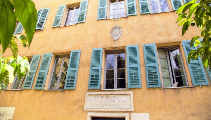 House of Napoleon Bonapart in Ajaccio France