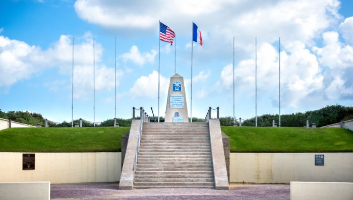 Memorial Museum in Normandy, France
