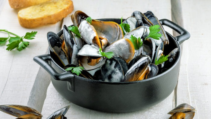 Typical food from Normandy