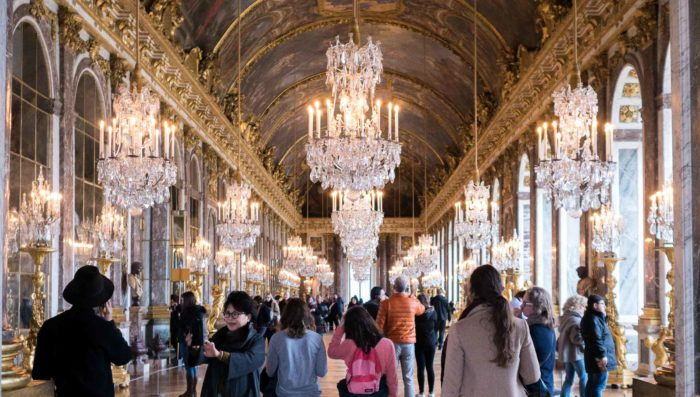 Tour of Versailles' Hall of Mirrors