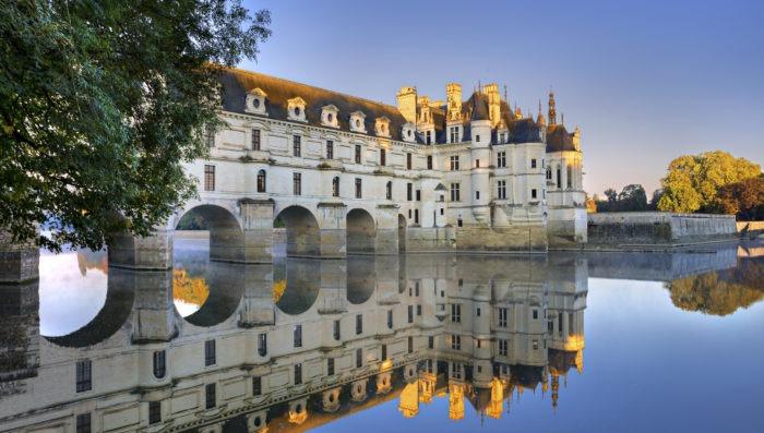 Castle in Loire Valley, France