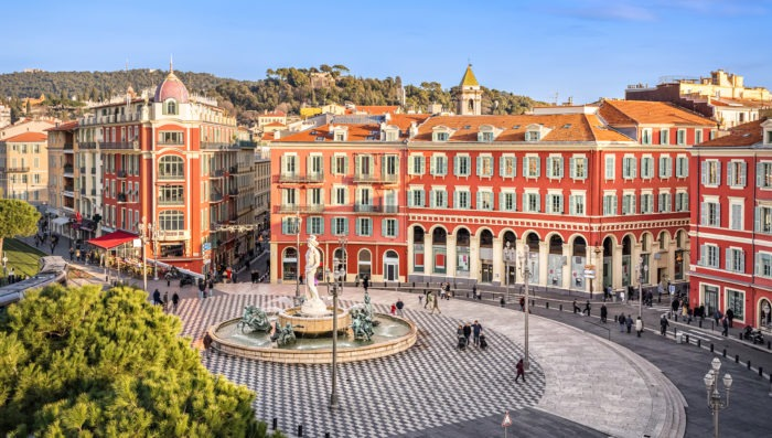 Place Massena in Nice, France