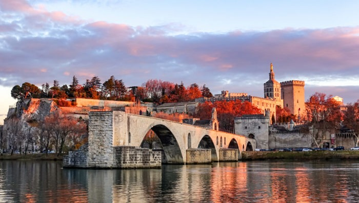 avignon city in France