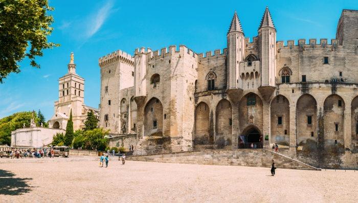Palace de Popes in Avignon, France