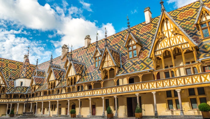 beaune architecture and history, france