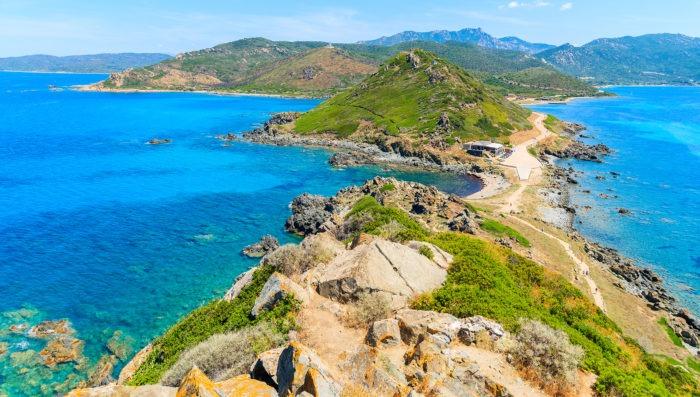 beautiful sea in cap corse, Corsica