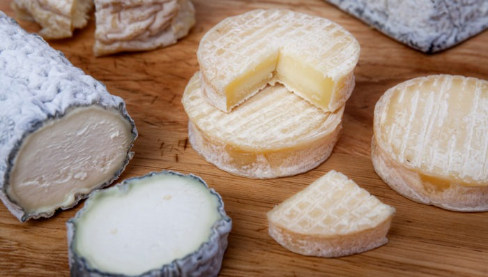 cheese and food from loire valley
