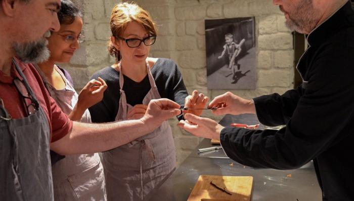 a cooking class in paris
