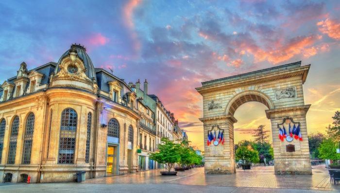 Beautiful view in Dijon