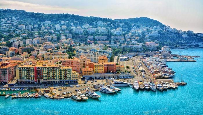 Nice, France panoramic view