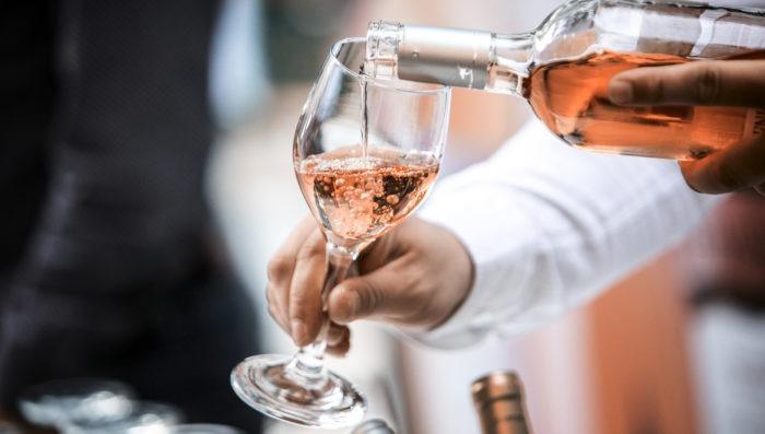 Rose wine in Loire Valley