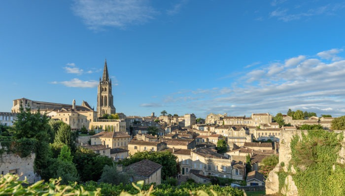 saint-emilion town in france