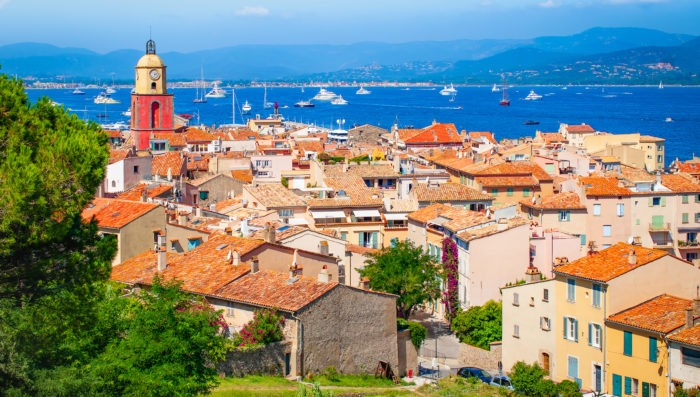 Saint Tropez, city in France