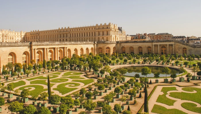 versailles view and landscape