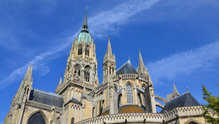 Cathedral in Bayeux, France