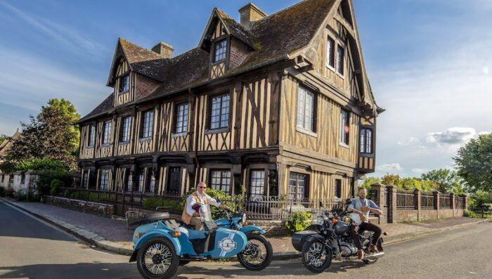 side car tour normandy