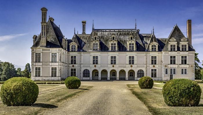 château de beauregard in France