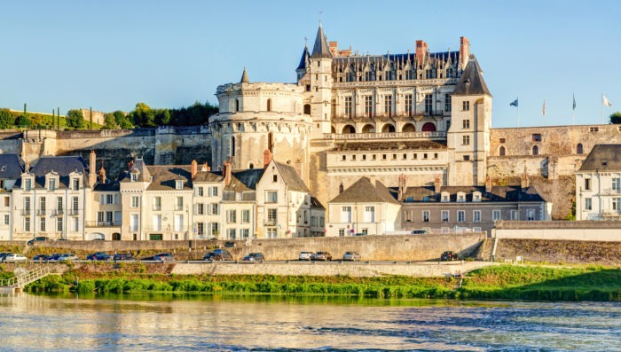 Castle of Amboise in France