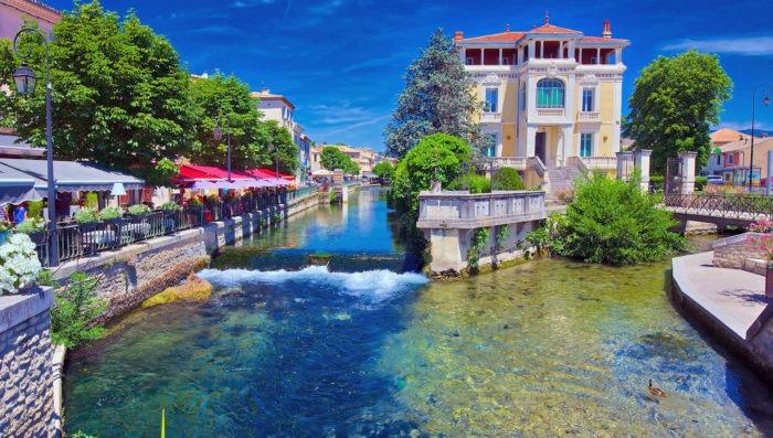 Isle sur la Sorgue, beautiful place in Provence