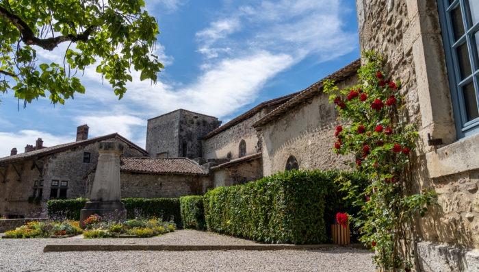 Pérouges ville in France