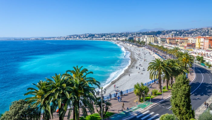 nice france waterfront beach vacation