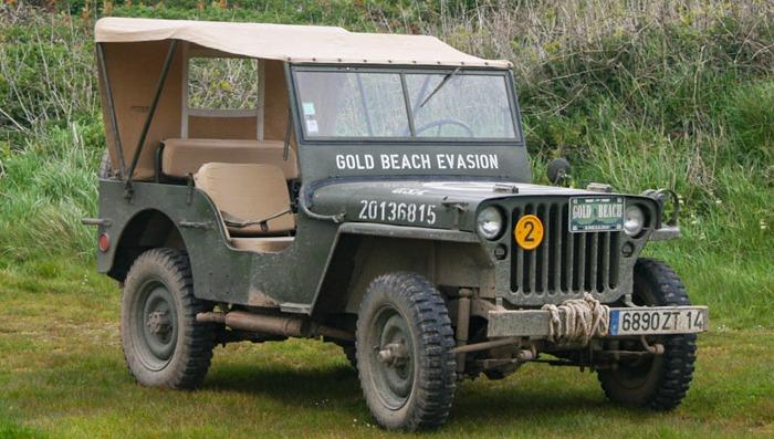 jeep tour d-day ww2 sites