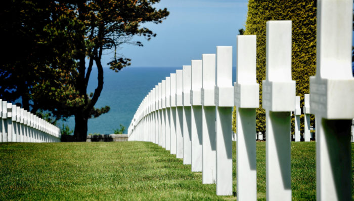 omaha beach american military cemetary memorial colleville-sure-mer