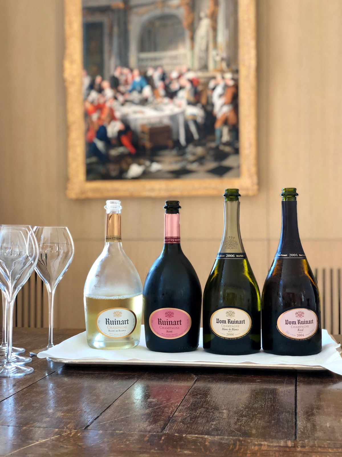 ruinart tasting in champagne, how to spend two days in champagne from paris