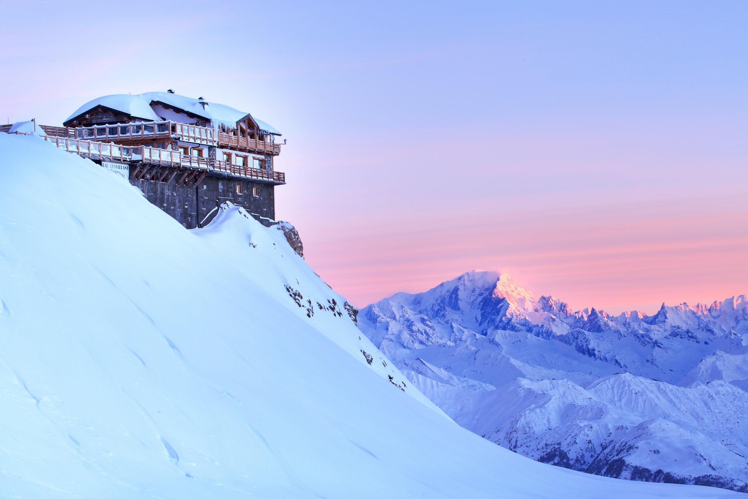 french winter ski guide courchevel