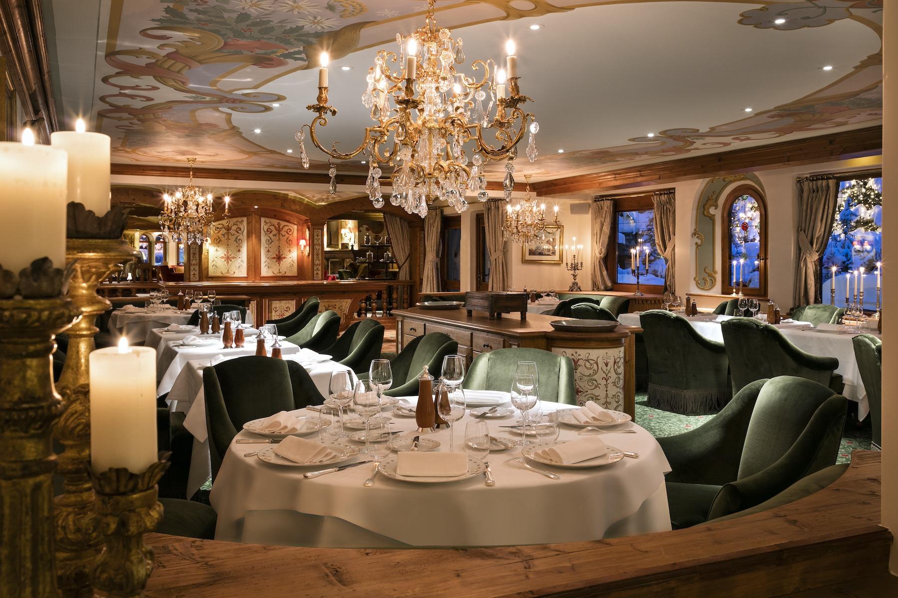 where to eat in courchevel la table des airelles