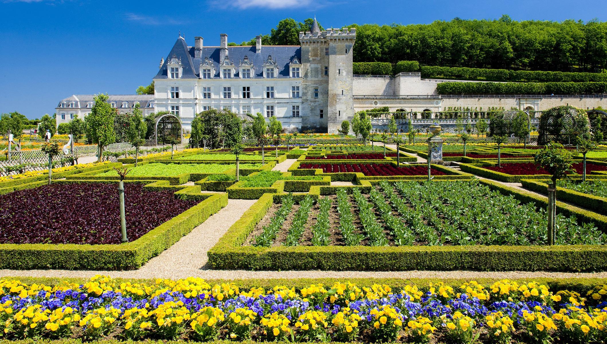 chateau de villandry garden
