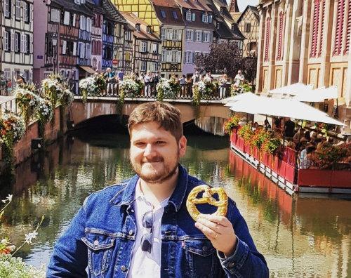 French Side Travel Designer Frank in Colmar, Alsace, France