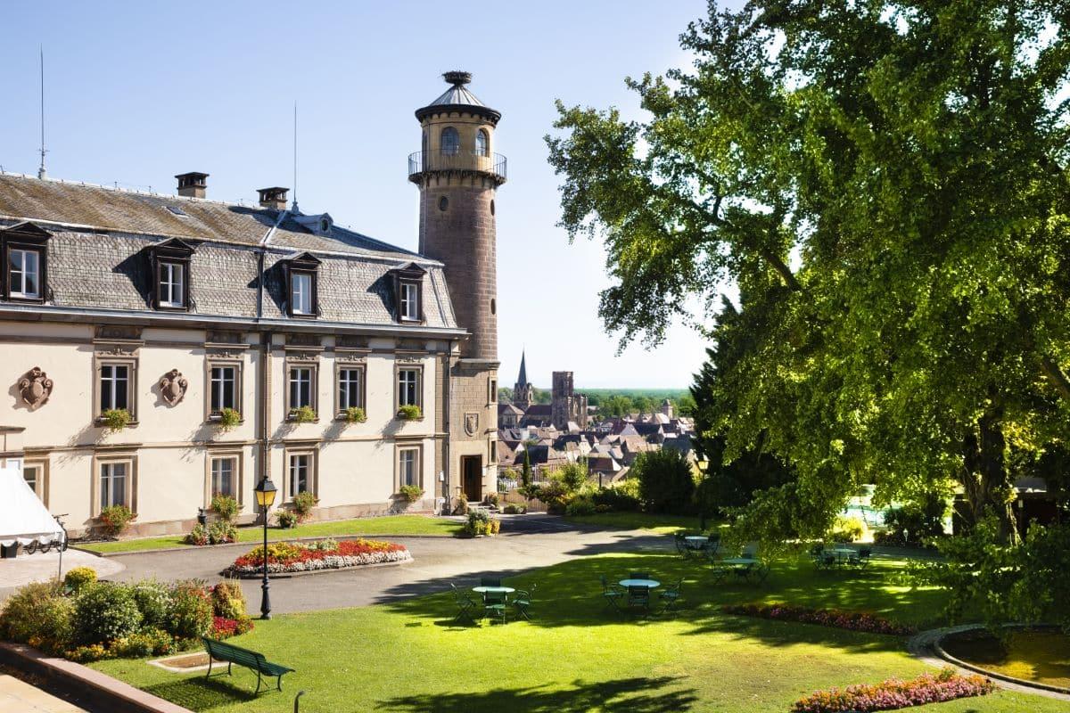 chateau d'isenbourg alsace