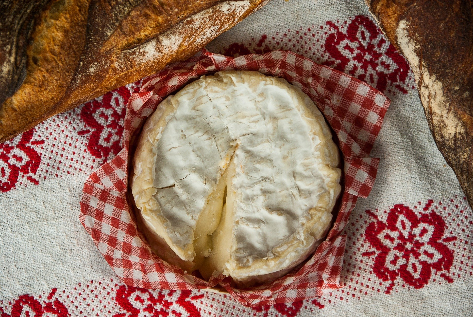 fall in france normandy camembert